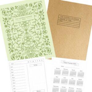 The Flexible Planner printable pdf covers-bonuses