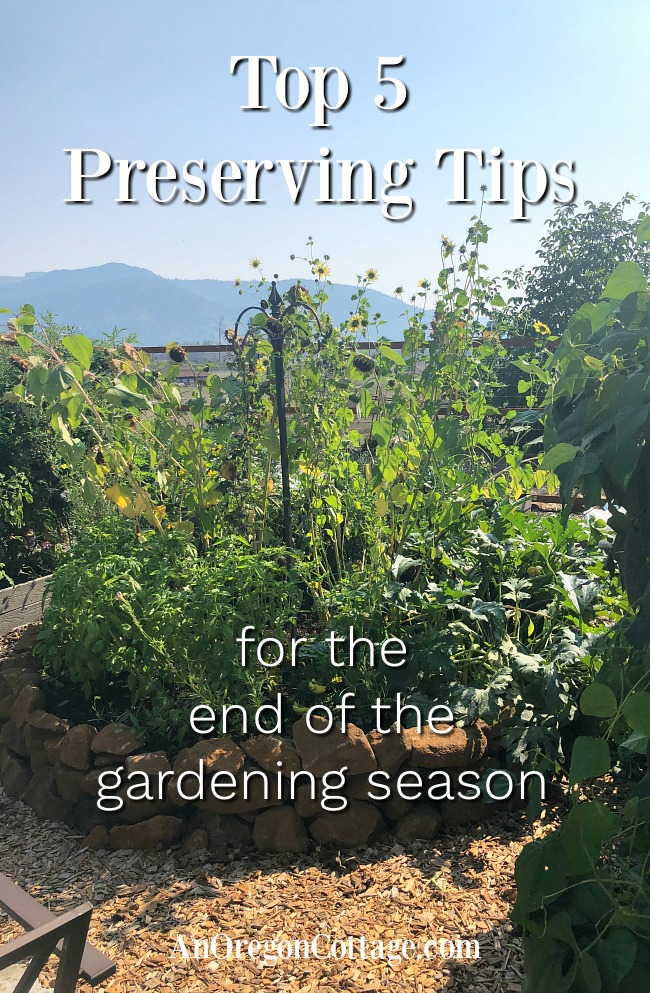 top 5 preserving tips for fall