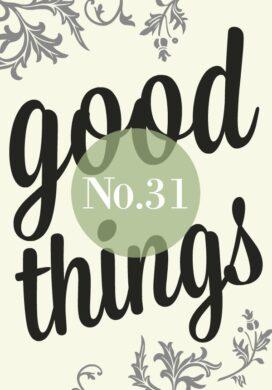 Good Things List-No-31 image