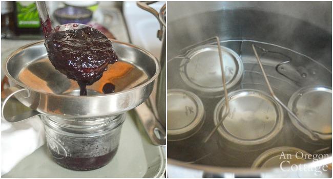 canning blueberry chutney
