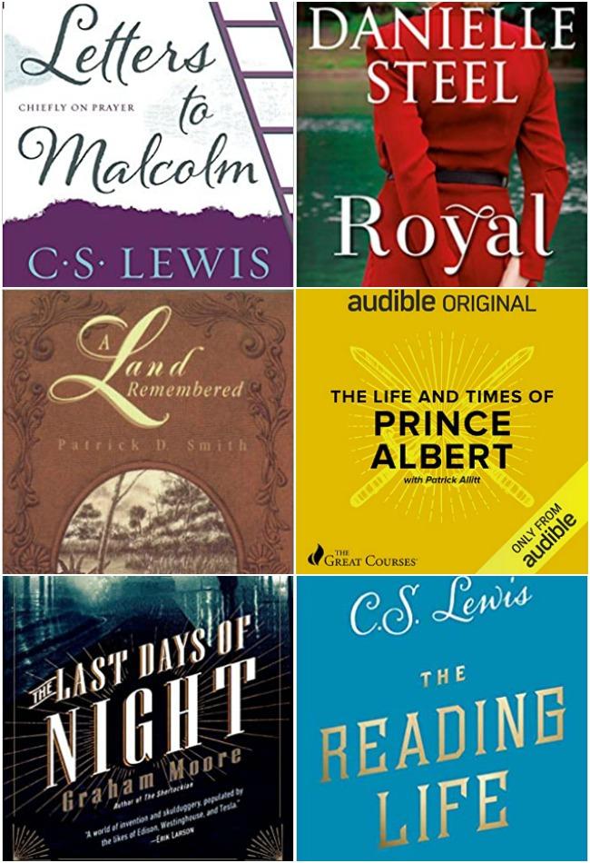 November 2020 books read