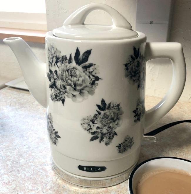 bella ceramic electric teapot