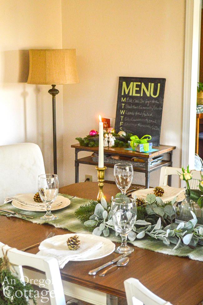 christmas 2020 dining room-menu