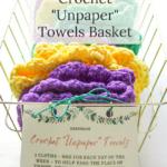 easy diy crochet unpaper towels gift