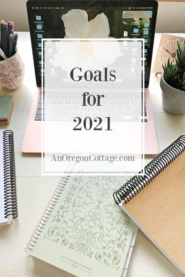 2021 Goals pin image