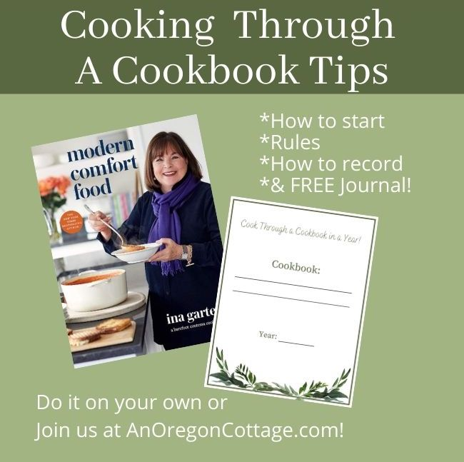 Cooking Through A Cookbook In a Year