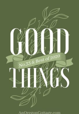 Good things list 33 and best of 2020