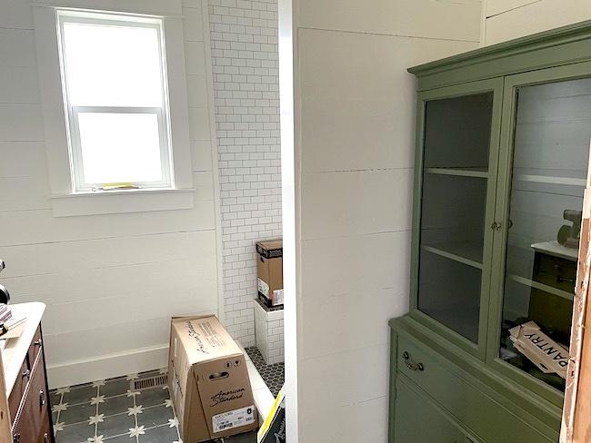 farmhouse bathroom progress_1-21