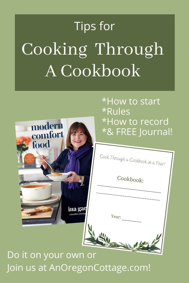 tips for cooking through a cookbook