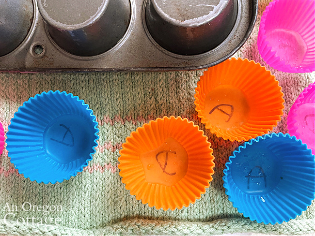 silicone baking cups for raw dog food