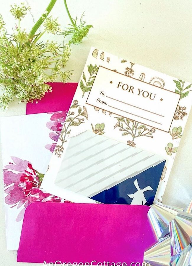 floral gift card holder_featured