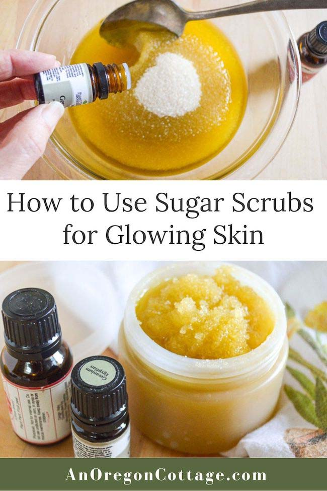how to use sugar scrubs for glowing skin