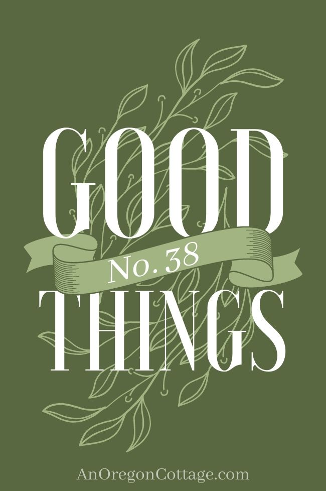 Good Things List_38 title image