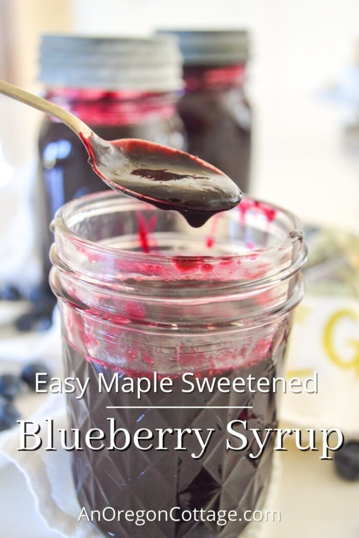 easy blueberry syrup recipe