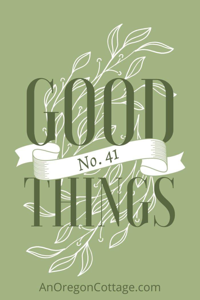 Good things list No-41 image