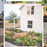 herb-flower garden before-after