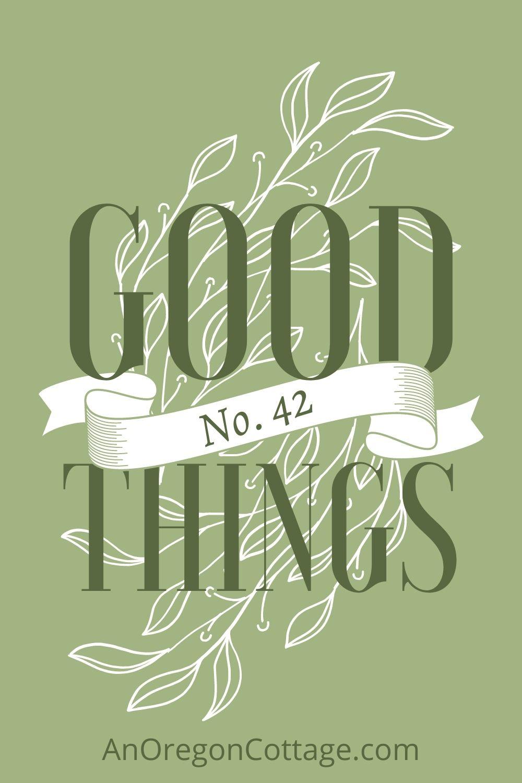 GOOD THINGS List No-42